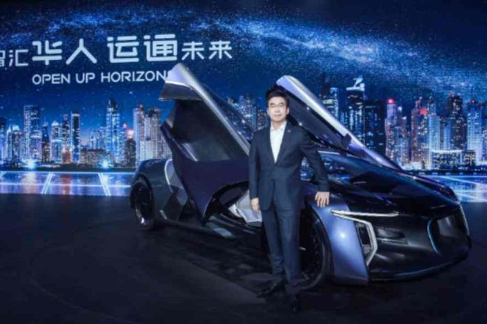 Chinese startup Human Horizons unveils a demo of the world's first urban road autonomous driving