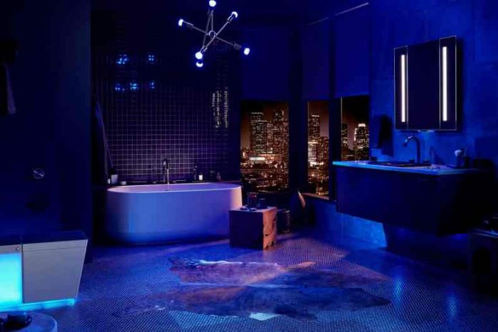 Kohler unveiled a $7,000 smart toilet with built-in speakers, mood lighting and Amazon Alexa voice controls