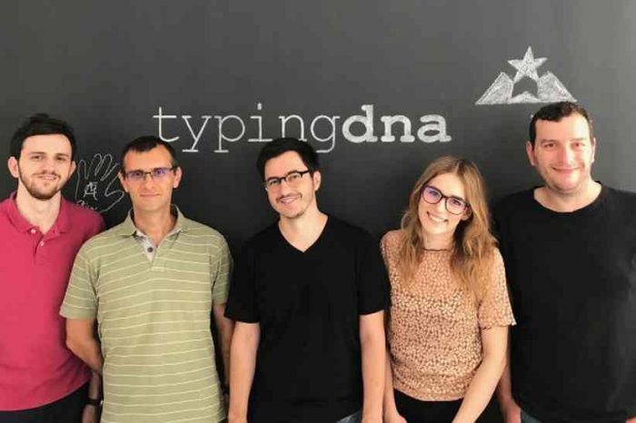Biometrics technology tartup TypingDNA gets $1.5 million seed investment to accelerate international expansion and technology improvement