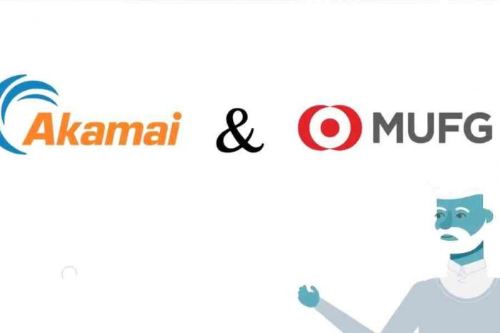 Akamai and Mitsubishi UFJ Financial Group team up to form GO-NET, a joint venture for blockchain-based payment network