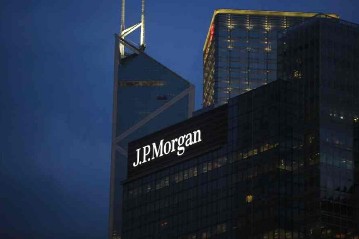 J.P. Morgan Launches Development Finance Institution to Expand its Financing Into Emerging Economies