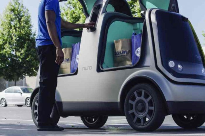 Autonomous vehicle startup Nuro raises close to $1 billion from the SoftBank for its driverless deliveries