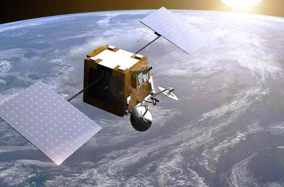 Rocket with satellites for a global Internet started