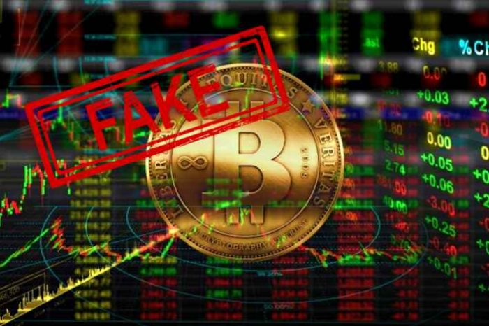 About 95 percent of bitcoin trading volume is a hoax, new study shows