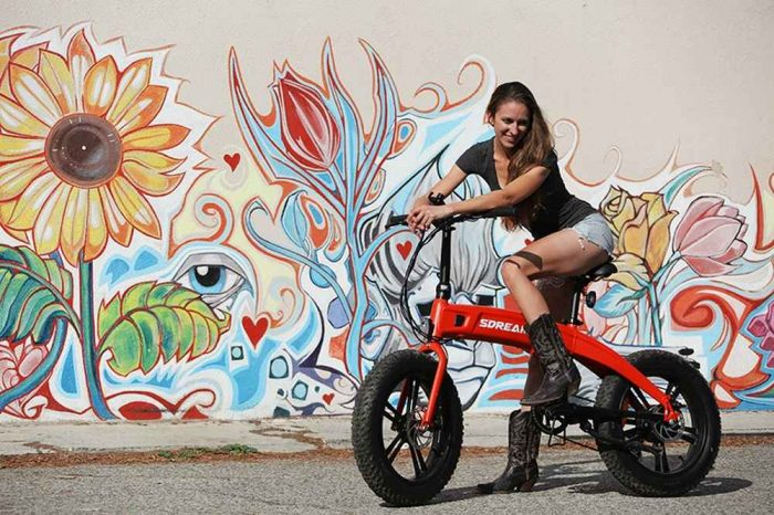 Meet Sdream: The Smartest, Foldable, All Terrain eBike