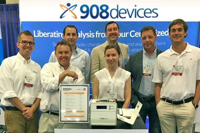 908 Devices secures $17.5 million in growth funding to fuel growth in existing market  and accelerate new product development