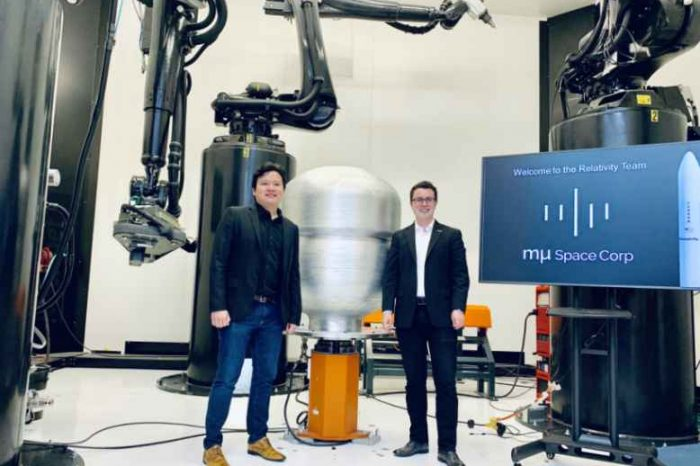Relativity partners with mu Space to launch Low Earth Orbit (LEO) satellite on Relativity's Terran 1 rocket, the world's first and only 3D printed rocket