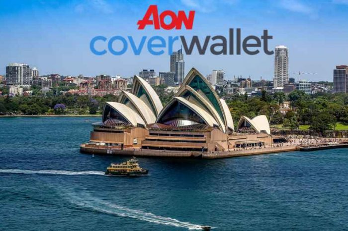 Aon partners with InsurTech startup CoverWallet to offer digital insurance to commercial customers in Australia