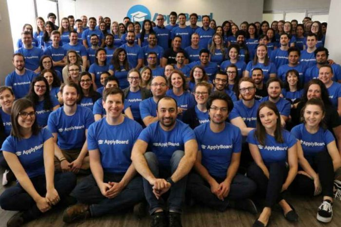 ApplyBoard bags $40.92 million in Series B todevelop its AI platform and market expansion to make education accessible to students around the world