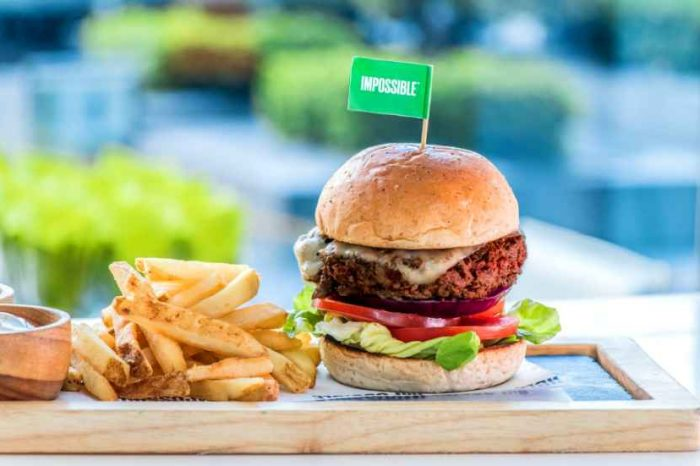 Vegan startup Impossible Foods raises about $500M to help the planet with meatless burgers