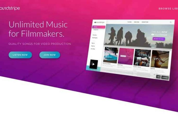 Music production startup Soundstripe scores additional $2M to provide unlimited, royalty-free music for filmmakers