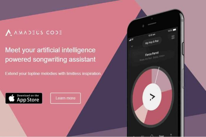 Amadeus Code receives $1.8 million to develop AI music generation platform
