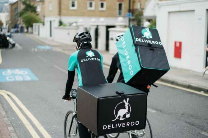 Amazon-backed food delivery startup Deliveroo hammered, shares plunged 31% in London IPO debut