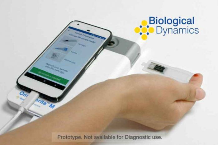 Biotech startup Biological Dynamics receives funding from the Bill & Melinda Gates Foundation to advance smartphone enabled point-of-care molecular diagnostic platform