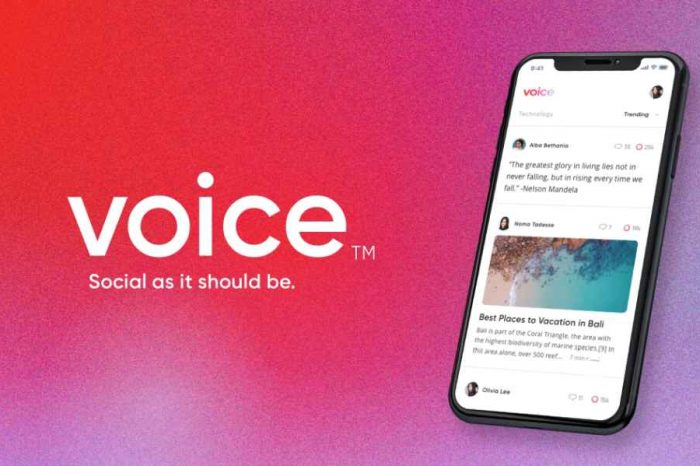 Block.one bought the domain name Voice.com for $30 million for its new blockchain-based social media platform Voice