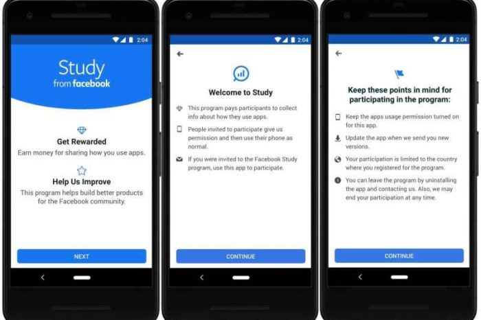 Facebook wants to pay you for your private data; unveils new Study app that tracks your app usage