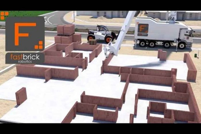 Meet Hadrian X, a bricklaying robot that can build a house in three days