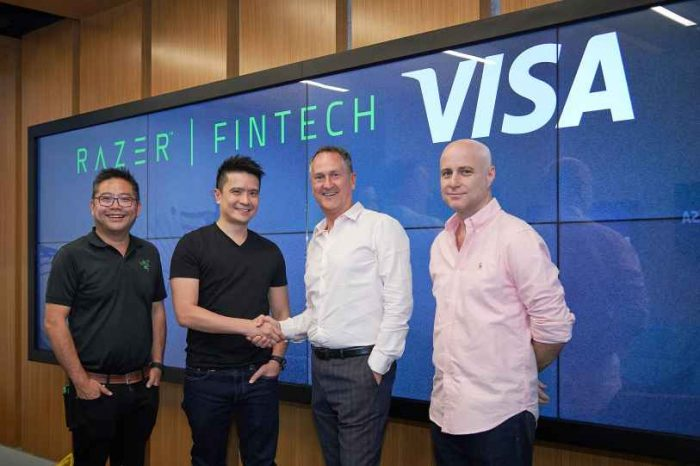 Razer partners with Visa to transform payments andbring financial inclusion to Southeast Asia's unbanked and underserved population