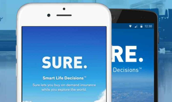 Insurtech startup SURE secures additional $12.5 million in Series B to make it possible for anyone to purchase on-demand insurance with a smartphone