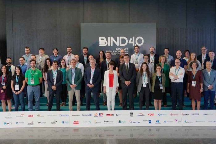BIND 4.0 Accelerator partners with 52 major industry leading companies to work with startup developing Industry 4.0 solutions; announces fourth open call