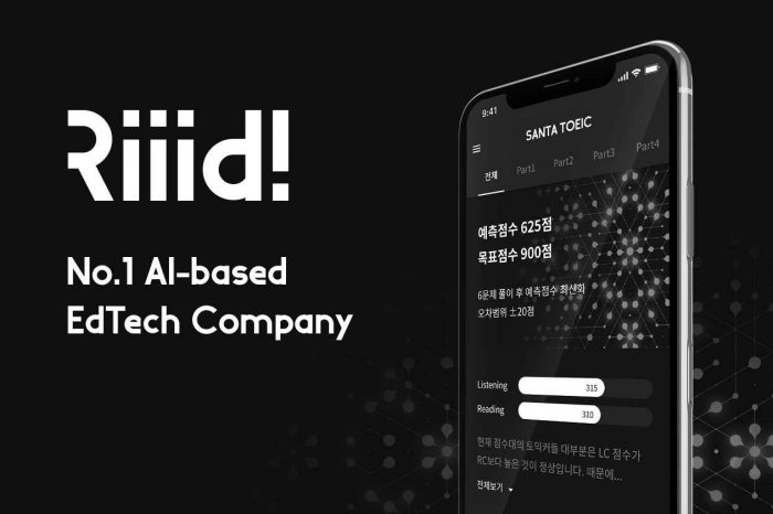 Riiid, a South Korean Edtech and AI tutoring platform startup, raises $18 million Series C funding to further R&D and further enhance its AI technology