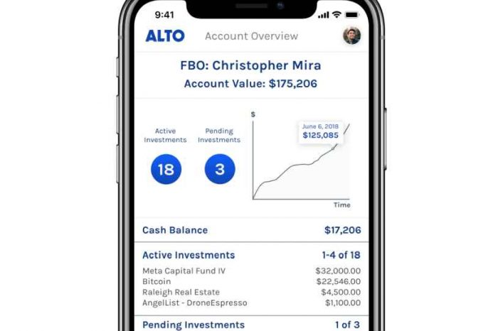 Fintech startup Alto closes $5.4 million seed round to put alternative investments in IRAs and democratize asset investing
