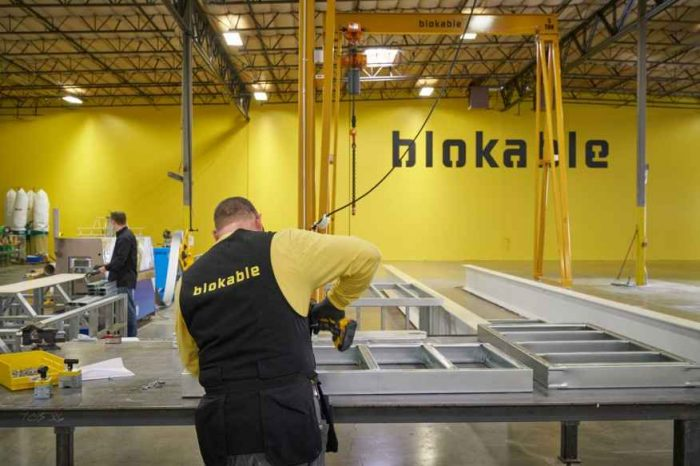 Manufacturing startup Blokable closes $23 million in Series A funding to accelerate product development and expansion