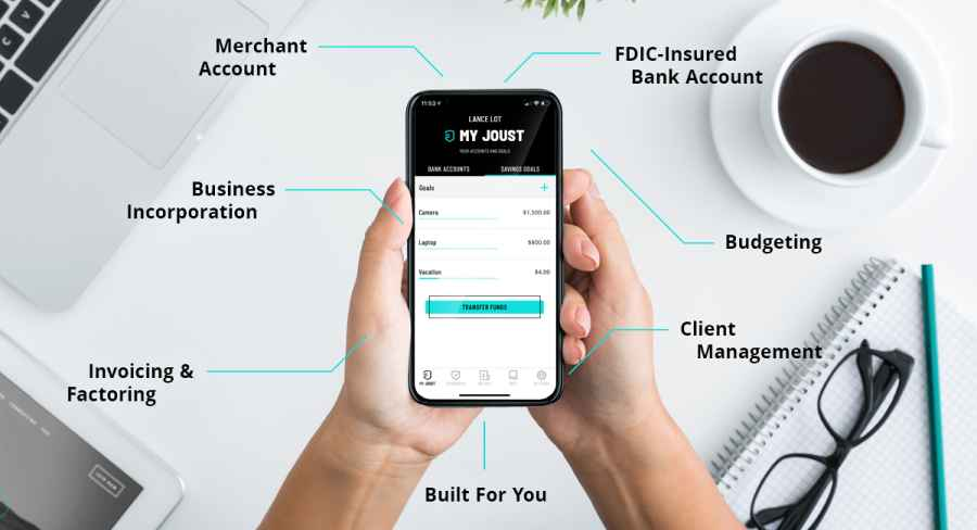 Fintech startup Joust raises $2.6 million seed round for the nation's first banking platform for freelancers, entrepreneurs and the self-employed workers