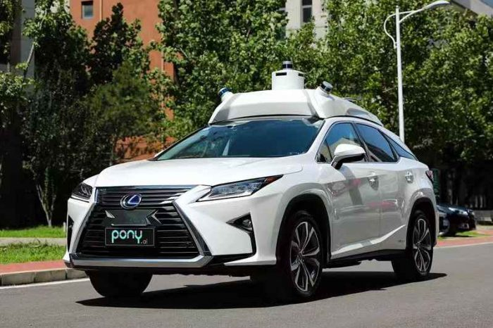 Autonomous driving startup Pony.ai raises $462 million led by Toyota, now valued at over $3 billion