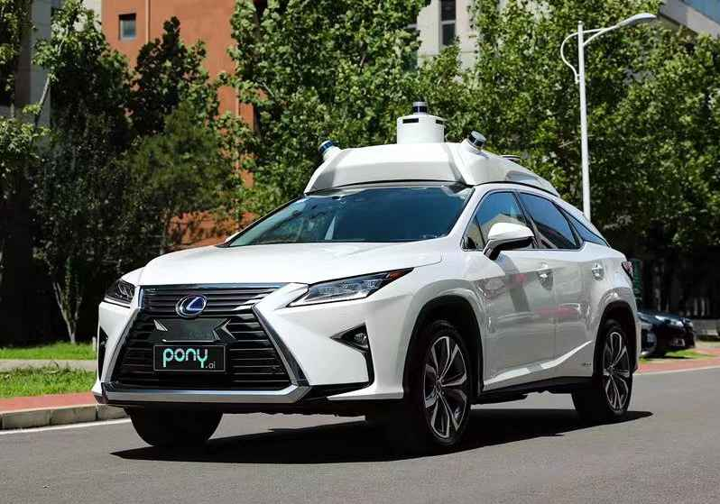Chinese Autonomous Driving Startup Pony.ai Runs With Toyota