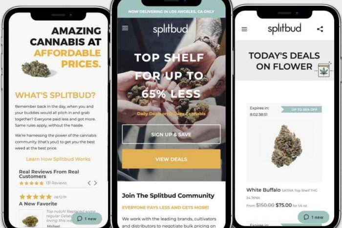 Cannabis tech startup Splitbud launches a new ordering platform to make cannabis more accessible via competitive pricing