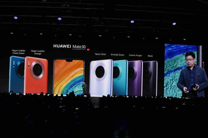 Huawei seeks to upstage Apple with Mate 30 smartphone launch