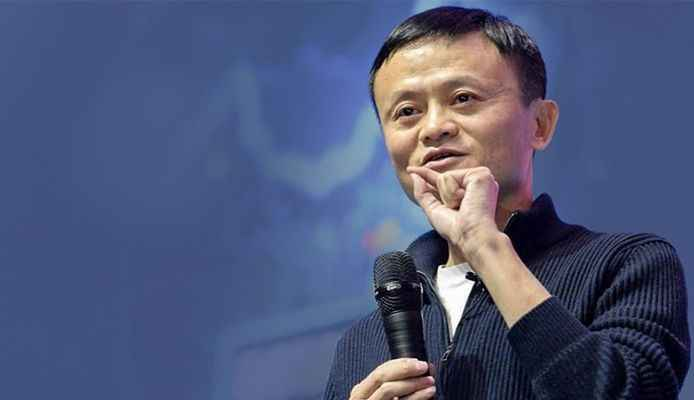 Tearful Jack Ma bids Alibaba farewell with rock star show