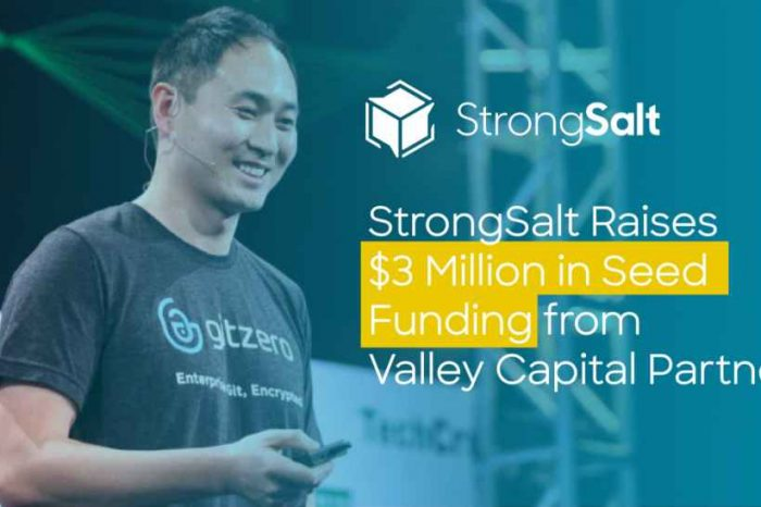 StrongSalt, a startup started by founding engineer of FireEye, raises $3 million seed funding to launch new encryption platform-as-a-service