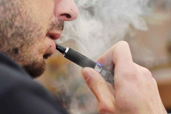 E-cigarette vaping linked to lung cancer in mice, researchers find