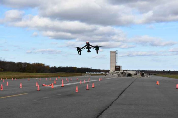 "NUAIR Hosts Drone ""Fly-In"" for More Than 100 New York Public Safety Officials"