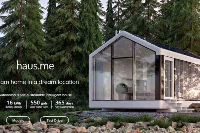 Haus.me Launches a Sustainable 3D-Printed Prefab Home That Combines Autonomous With Off-the-grid Capabilities