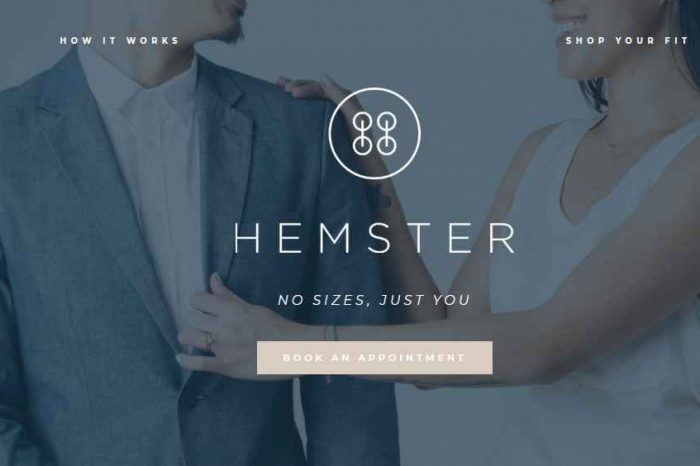 Fashion tech startup Hemster launches first on-demand tailoring service; closes $4M post-seed funding led by Bullpen Capital