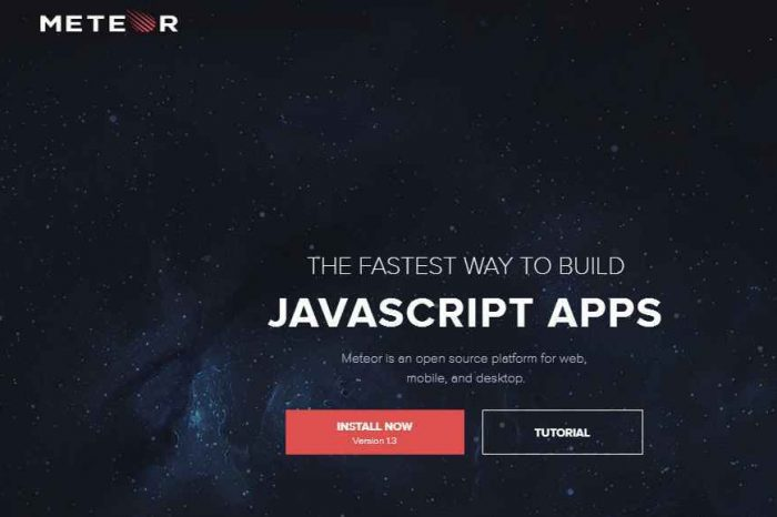 Tiny Capital Acquires Meteor, an Open Source Platform for Building JavaScript Apps