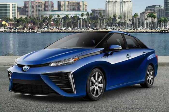 Toyota unveils revamped hydrogen sedan Mirai to take on Tesla; driving range of up to 312 miles on a full tank