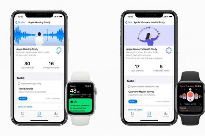 Apple launchesnew Research appto get volunteers enroll in three health studies