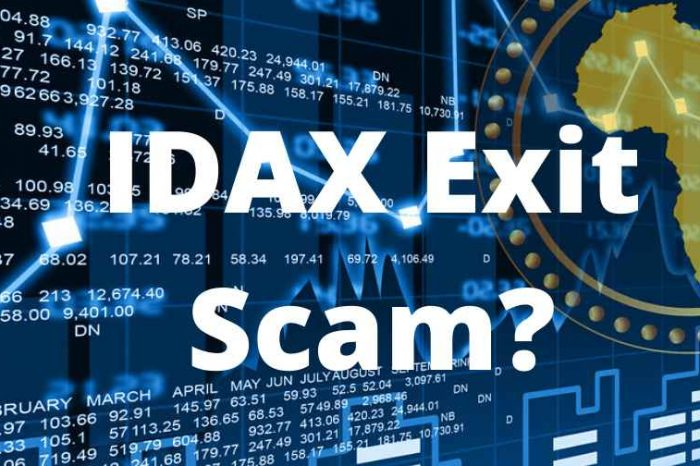 Cryptocurrency Scam: Crypto exchange IDAX restricts access and locks up cold wallet as CEO goes missing