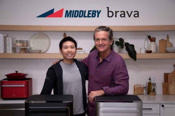 Middleby acquiressmart countertop oven maker startup Brava Home