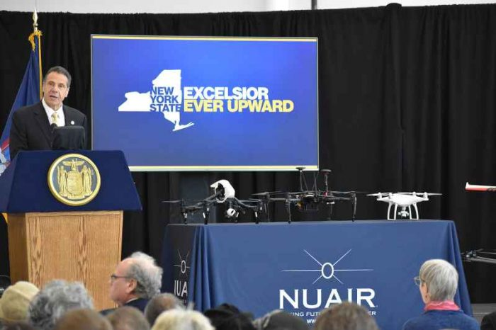 Governor Cuomo Announces Completion of First-In-The-Nation 50-Mile Drone Corridor and Expansion of GENIUS NY Program Incubator Facility, The Tech Garden