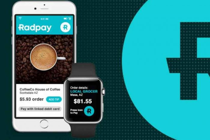 Blockchain startup Radpay closes $1.2M to disrupt the $32 trillion global card payment processing industry