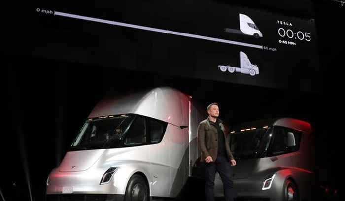 "Elon Musk to unveil Tesla's electric pickup ""Cybertruck"" tonight in Los Angeles"