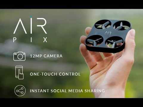 Meet Your Pocket Size Aerial Photographer: AirSelfie Unveils AIR PIX, The Smallest, Most Affordable Aerial Camera Ever