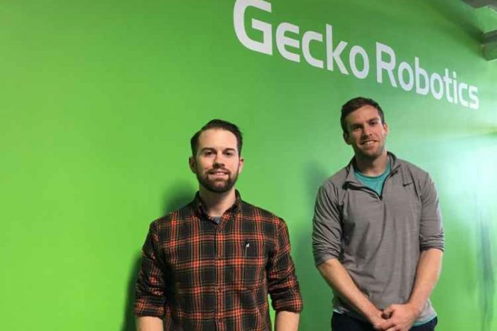 Robotics startups Gecko secures $40Mto inspect industrial equipment and prevent accidents with wall climbing robots