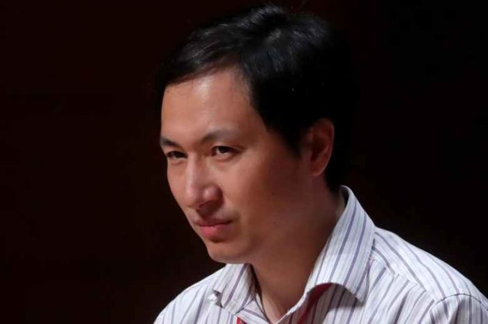 "The Chinese scientist who created the world's first ""gene-edited"" babies has been sentenced to 3 years in prison."