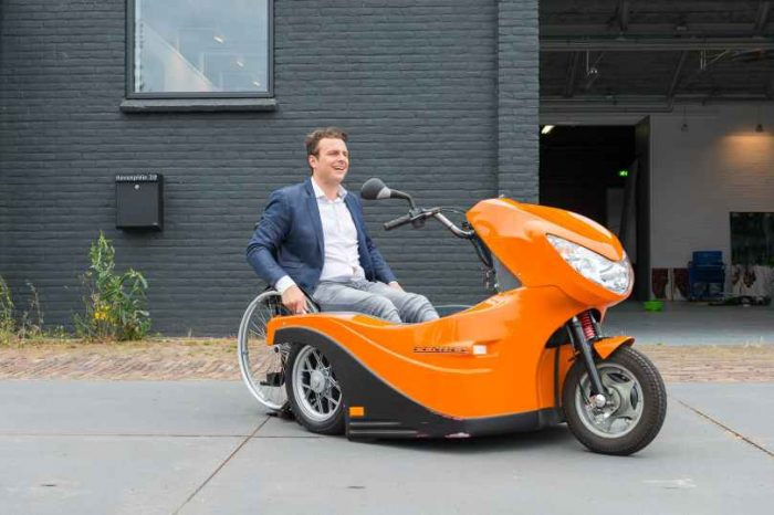 Huka is a Dutch mobility startup making it possible for people with disability to travel independently with its Pendel electric wheelchair scooter trike